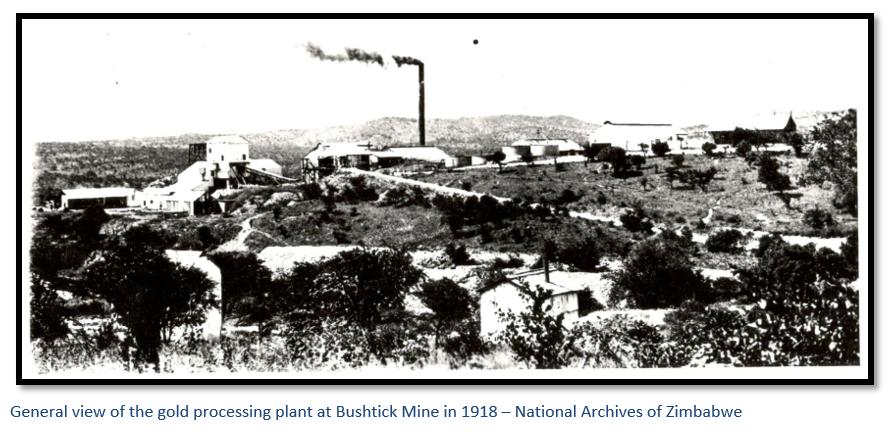 Bushtick Mine, now the location for Falcon College, the