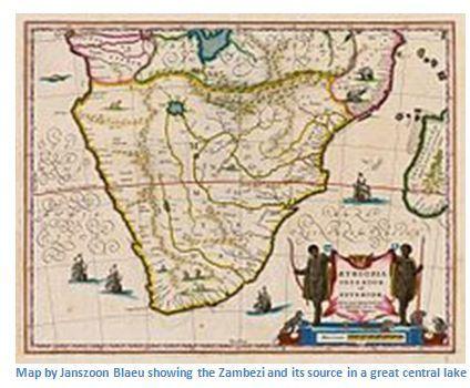 Zambezi River On Map Of Africa.The Zambezi River Zimbabwe Field Guide